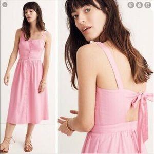 🆕 item Madewell 💐Fleur bow back dress